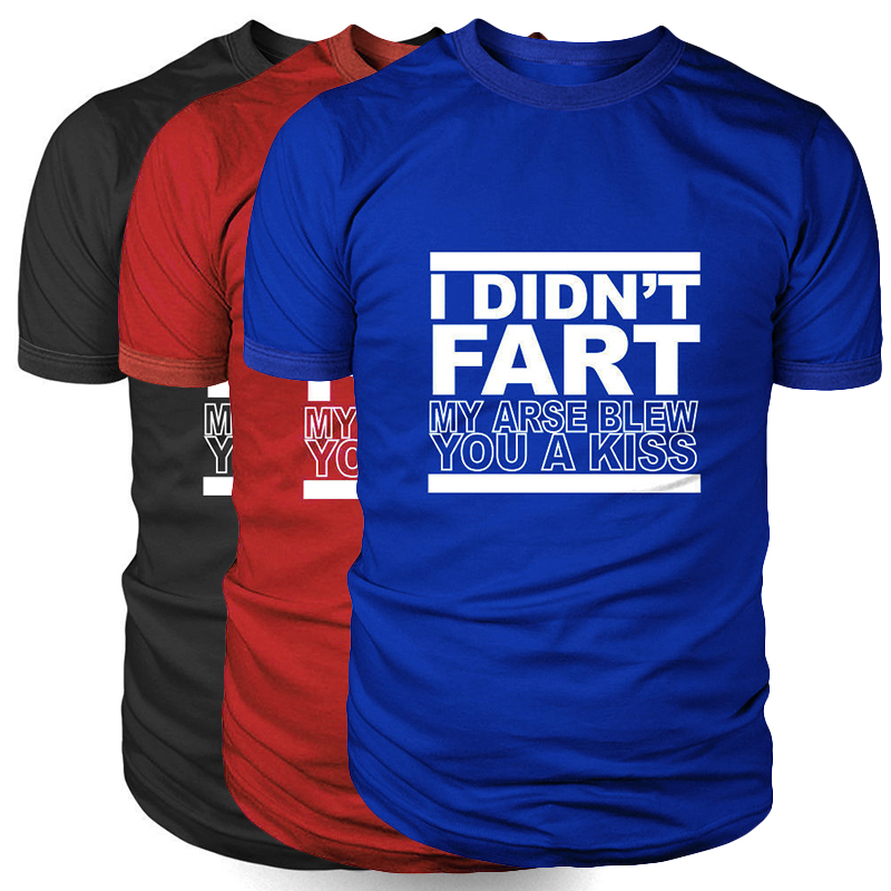 New Arrival Unisex I Didnt Fart Mens Funny T Shirt - Gift for Dad Fathers Day Fashion Tee