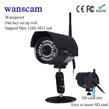 hot Wanscam HW0027 720P security cctv camera wifi wireless IP security Camera outdoor wifi wireless  support 128G TF card