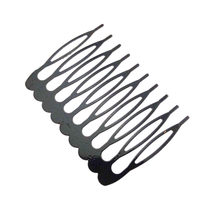 Set Of 10Pcs Metal Hair Combs Accessory Hairdressing Beauty Piece Baby Child Women(China)