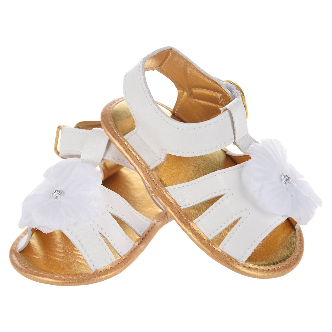 Sandals & Clogs Baby Girls Shoes Sandals Led Light Glowing Princess Beautiful Flower Children Shoes Soft Sole Newborn Toddler Shoes 9month-6y Mother & Kids