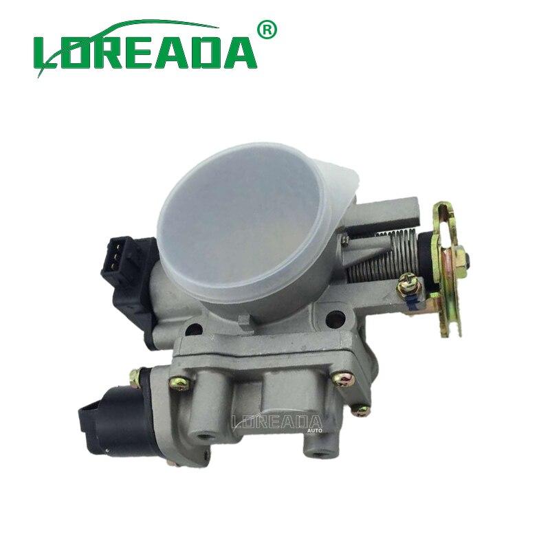 0280122001 IACV90645 W1607 LOREADA Original Mechanical Throttle Body 8701MI CO F002R 20025 for NISSAN Z24 2