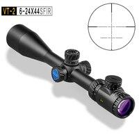 Оптический прицел Discovery VT 2 6 24X44SFIR высокое качество Chasse Riflescopes охотничьи винтовки прицелы страйкбол оптический вид для охоты