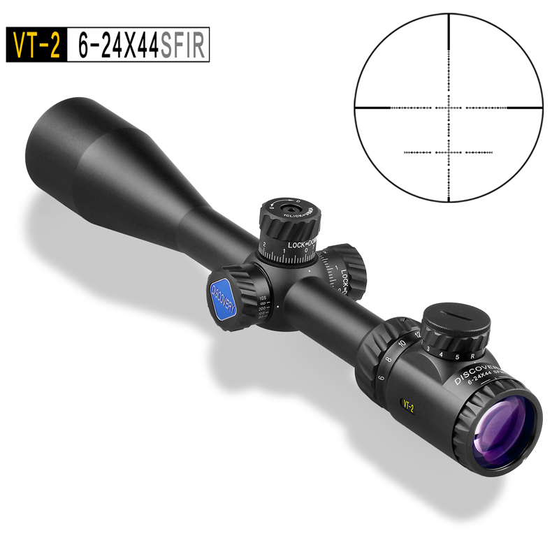 Optical Sight Discovery VT-2 6-24X44SFIR High Quality Chasse Riflescopes Hunting Rifle Scopes Airsoft Optic Sight For Hunting discovery обманувшие смерть часть 6