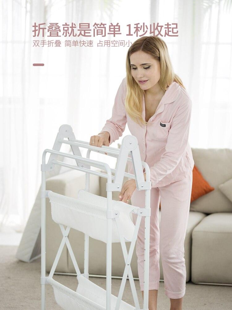 Table à couches multifonctionnelle pliante table de soins de bébé réglable en hauteur table de douche de bébé nouveau-né bébé massage coiffeuse