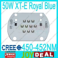 Free Shipg Cree XLamp 50W XTE Royal Blue 450nm 452nm Multi Chip High Power LED Light