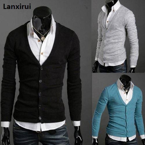 Pocket Zipper Wool Cashmere Sweater Male Outerwear Cardigan ,2018 Pocket Zipper Man Imported Wool Sweater Cardigan