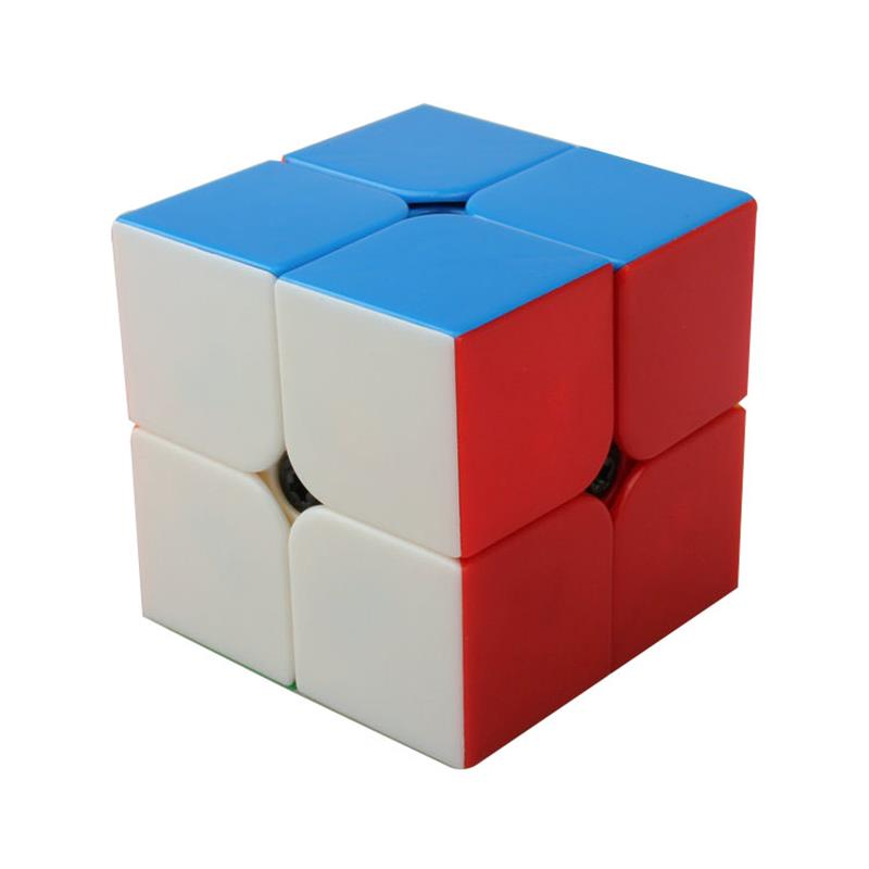 2x2x2 QIYI Puzzle Cubes Speed Cubo Square Puzzle No Sticker Colourful Gifts Educational Toys for Children