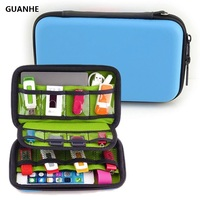 Guanhe pu leather hard shell case electronic accessories organizers for u disk sd card usb flash.jpg 200x200