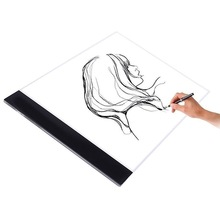 Portable Graphic Writing Painting Light Box Tracing Pads Digital Drawing Board Table Copy Board цены
