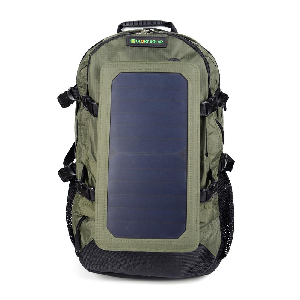 Походный рюкзак, 7 стенок солнечной панели для смартфонов и планшетов, gps, eReaders, bluetooth-колонки, камеры Gopro
