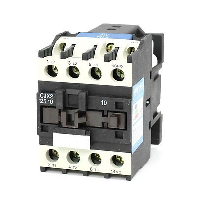 Baomain CJX2-2510 AC Contactor 24V 50/60Hz Coil 25A 3-Phase 3-Pole 1NO sayoon dc 12v contactor czwt150a contactor with switching phase small volume large load capacity long service life