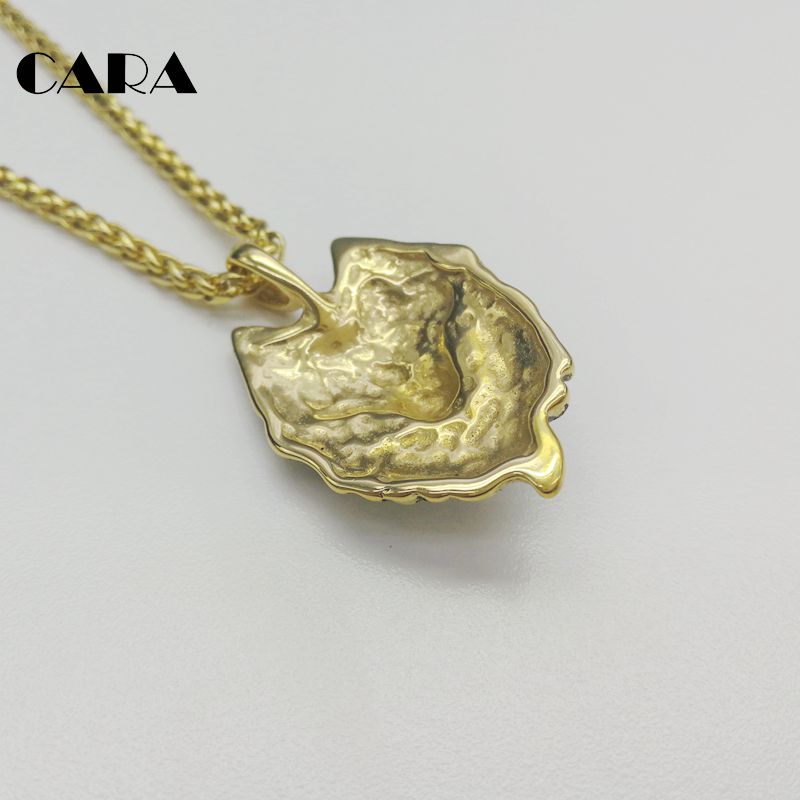 CARA new Plated 316L stainless steel Animal Wolf charm pendant necklace mens  womens wolf animal necklace jewelry CARA0405-in Pendant Necklaces from  Jewelry ... 81ddcb3f38b7