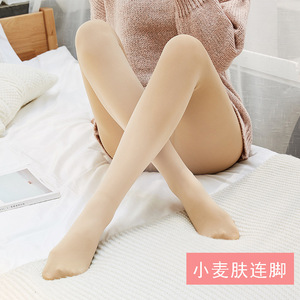 Image 5 - Plus velvet Extra thick Warm Tights Pantyhose Super soft Plus velvet Thicken Winter artifact 2018 NEW 220G 320G Cold 2019