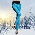 woman solid Autumn Winter Legging Plus Velvet Thickening Female Women's Plus Size Down Trousers lady warm down capris