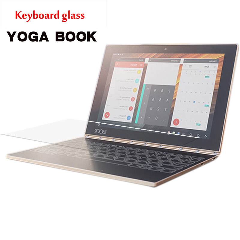 Full Coverage Tempered Glass Keyboard Glass For Lenovo YOGA Book 10.1 inch Table Screen Protector Protective Film Anti-Scratch image