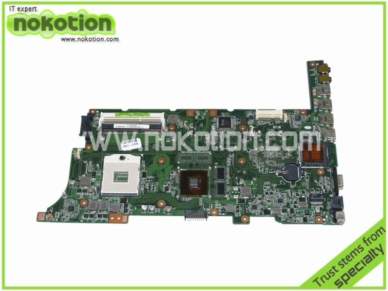 69N0XNM10D11 for asus k73sd K73SJ Laptop motherboard MAINBOARD rev 2.5  nvidia GeForce GT610M intel HM65 DDR3 60-N3XMB1000-D11 laptop motherboard for asus n43sl n43sl rev 2 0 hm65 nvidia n12p gt a1 ddr3