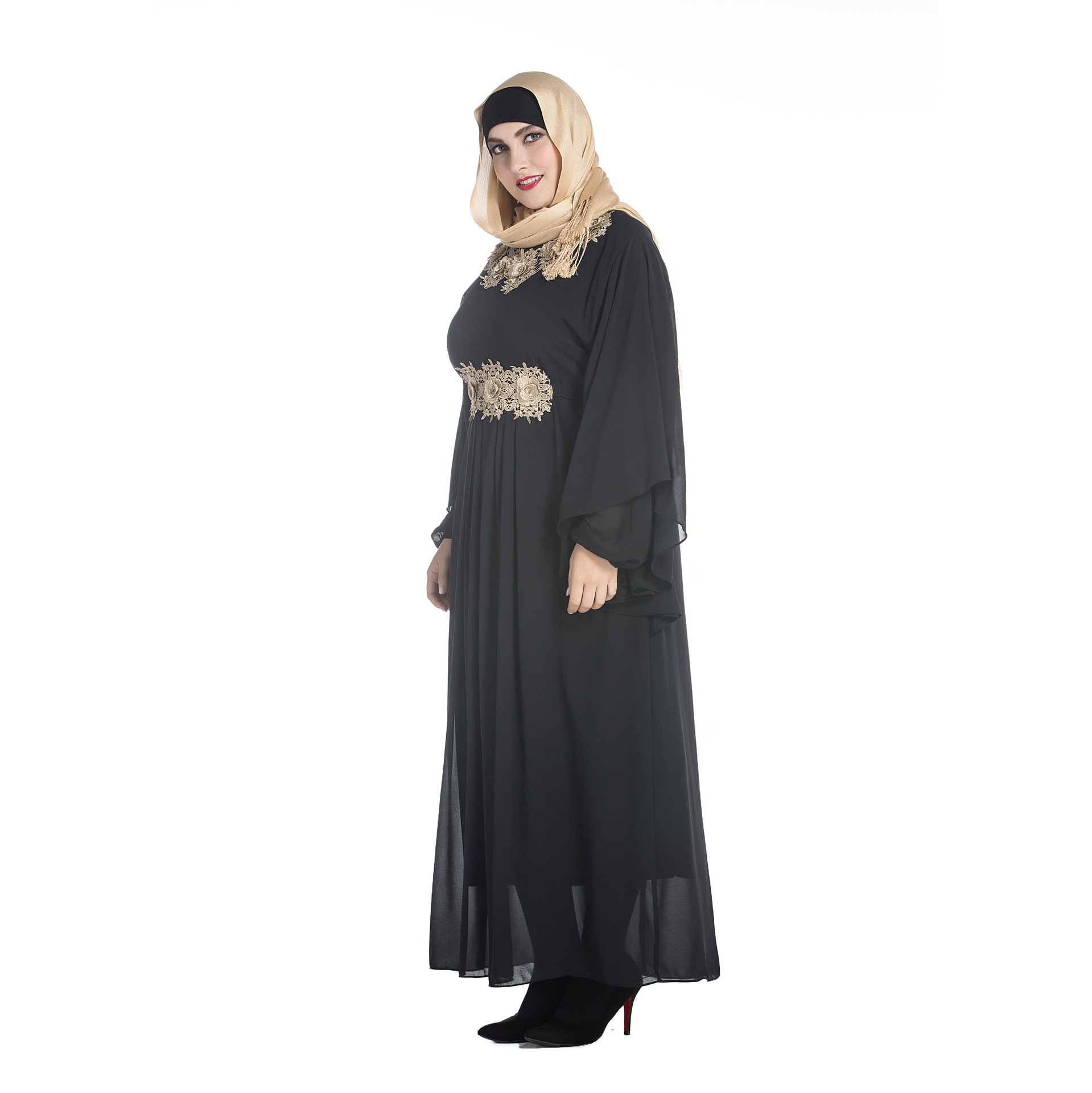 New women\'s dresses Arabian robe long gown Malaysia dress Arabian ...