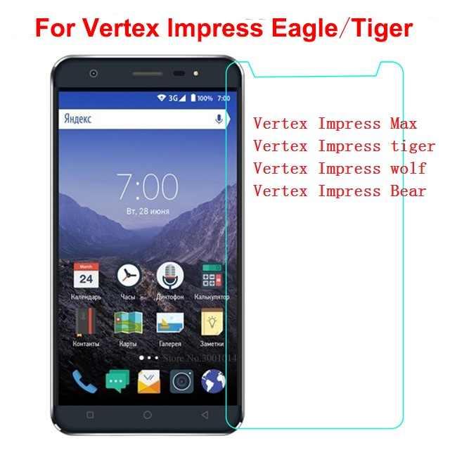 Szkło hartowane dla Vertex Impress Eagle osłona na ekran ze szkła hartowanego dla Vertex Impress orzeł niedźwiedź saturn Max wilk tygrys