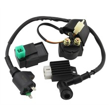 GOOFIT Ignition Coil CDI Regulator Rectifier Relay Kit for 150 200 250 Cc Chinese ATV