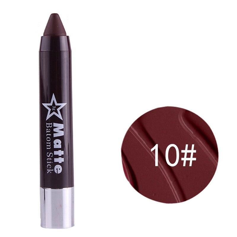 5 pcs plein rouge à lèvres ont 8 Couleur 10 Mlle Rose Beautyful Argent rouge à lèvres stylo fin UV 8 couleur rotation rouge à lèvres permanent