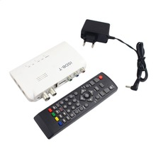 ISDB-T Digital Terrestrial Receiver HD Video Converter Terrestrial Set Top Box For TV Monitor LCD Tuner With Remote Control