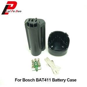 Image 1 - السلطة أداة البطارية البلاستيك حالة (لا بطارية خلايا) لبوش 10.8 فولت ، الخفافيش 411 411A BAT411 GSR 10.8 لى