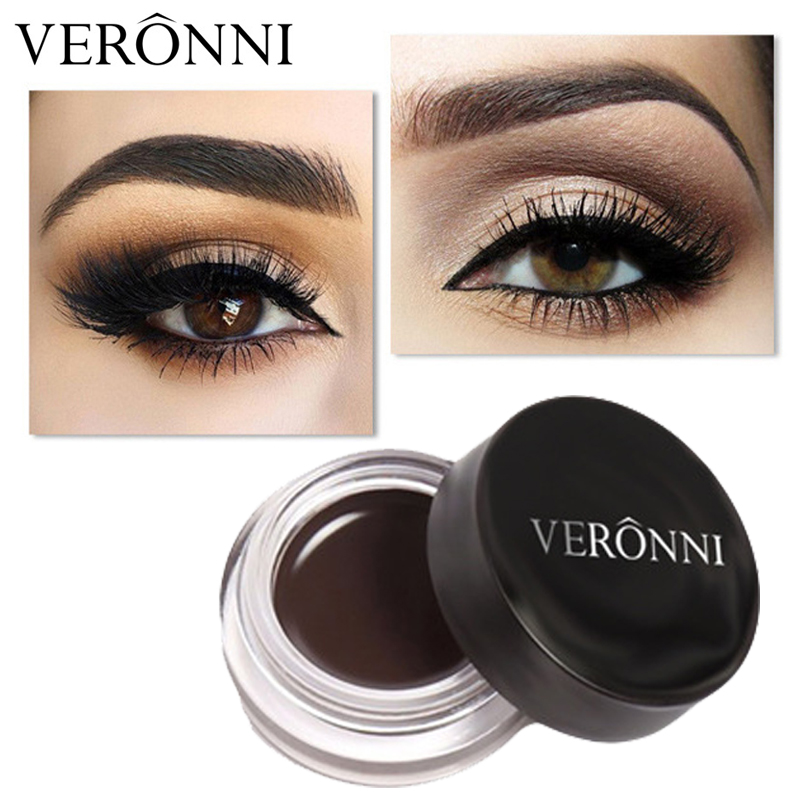 Henna Tattoo For Eyebrows: VERONNI Brand New Waterproof Pigments Henna Eyebrow Tint