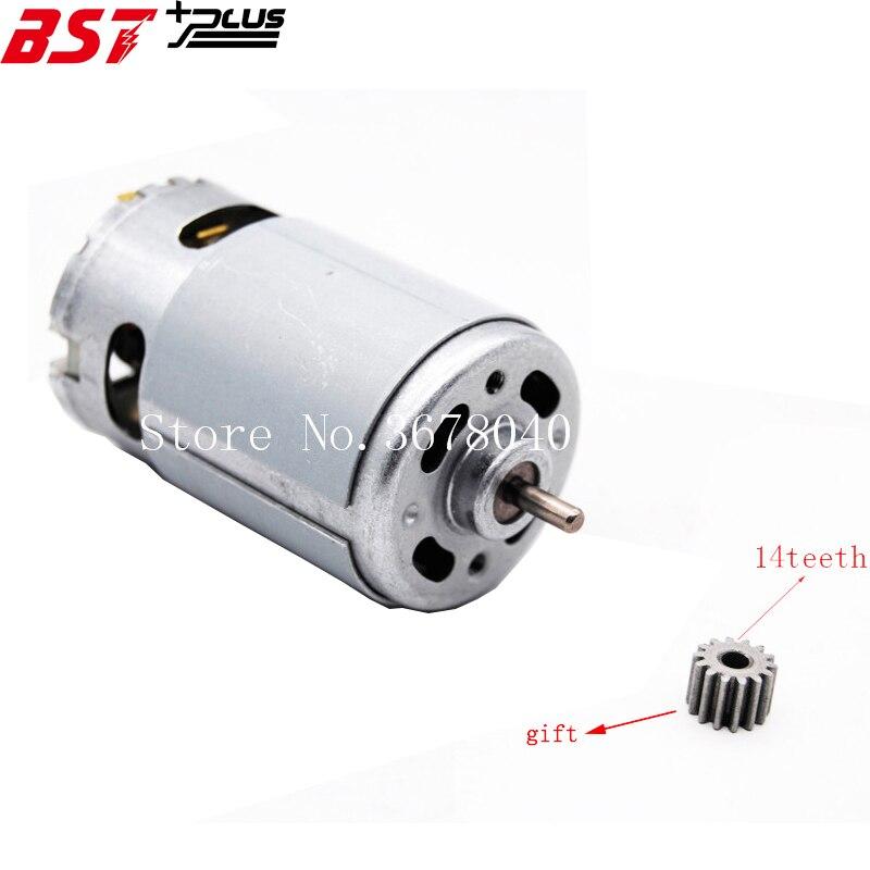RS550 20000 rpm DEL MOTORE 10.8 v/12 v/14 v/14.4 v/16.8 v/18 v/21 v/24 v (14 DENTI) ADATTO PER BOSCH MAKITA HITACHI CORDLESS TRAPANO