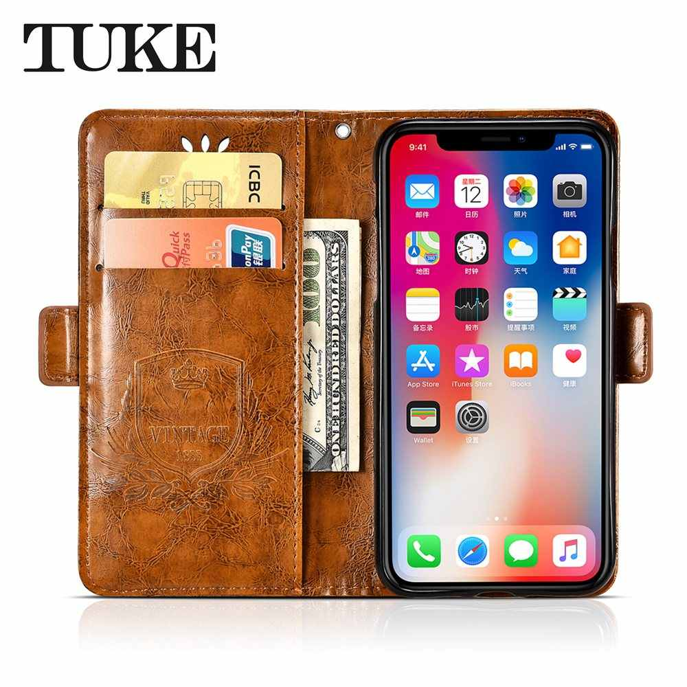 Vintage Case For Umidigi A3 A3 Pro Case Oil Wax Embossed Flower Leather Wallet Flip Phone Cover For Umi A3 A3 Pro Funda