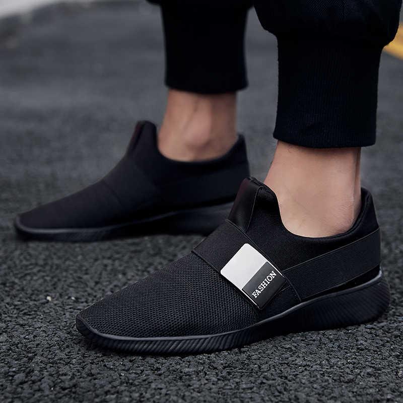 Ayakkabı Erkekler Sneakers Nefes Mektup Taban rahat ayakkabılar Açık Adam Örgü Işık Eğitmenler Erkek Tenis Feminino Zapatos Sepeti Hombre