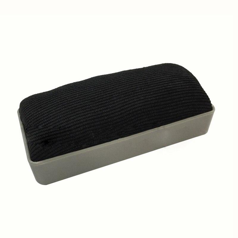 2 PCS Of  Rectangular Velor Eraser Easy To Clean For Black Chalk Board, Gray