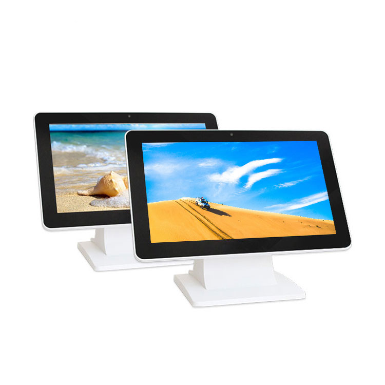 Customized 10.1 Inch Wall Mounted Capacitive Touch Screen 2 Lan 3855U/I3/I5/I7 All In One Computer