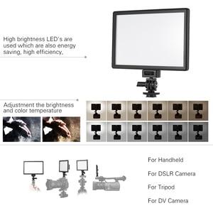 Image 3 - Viltrox L116T Foto Studio Licht Fotografie Verlichting Led Video Licht Camera Video Light Voor Canon Nikon Camera Dv Camcorder
