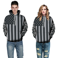 Fashion Men's Hoodie Tracksuit American Flag 3D Printed Hoodies Long Sleeve Hooded Pullover Casual Street Sweatshirt Plus Size