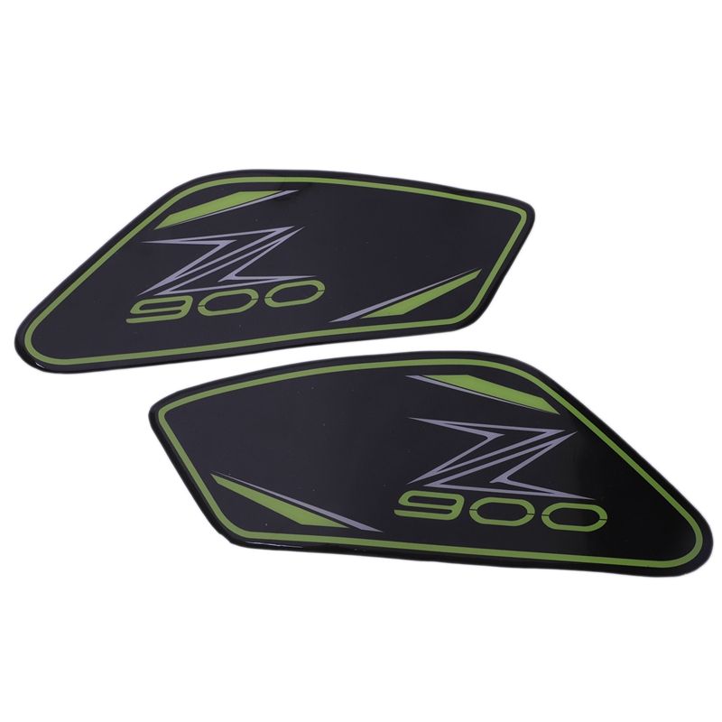 For Kawasaki Z 900 2017 Motorcycle Protector Anti Slip Tank Pad Sticker Gas Knee Grip Traction Side Decal Z900 Motorcycle Acce|Car Stickers| |  - title=