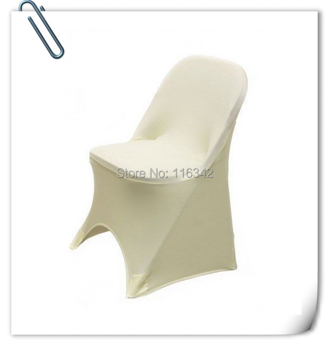 hot sale universal 25pcs spandex folding chair cover for wedding polyester chair covers with 4