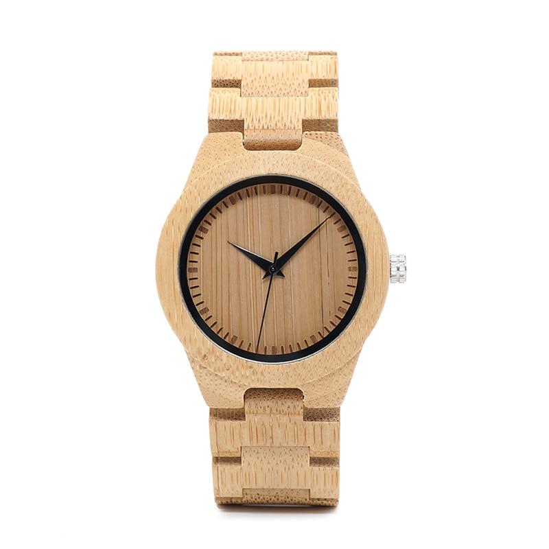 BOBO BIRD Bamboo Lovers Watches Timepieces Ағаш тобы - Әйелдер сағаттары - фото 3
