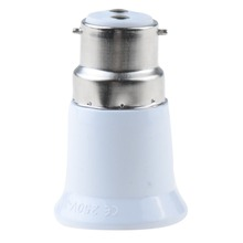 1 шт. B22 для E27 База Светодиодный свет лампа Разъем для конвертера, адаптера удлинитель для головок VED63 P0.11