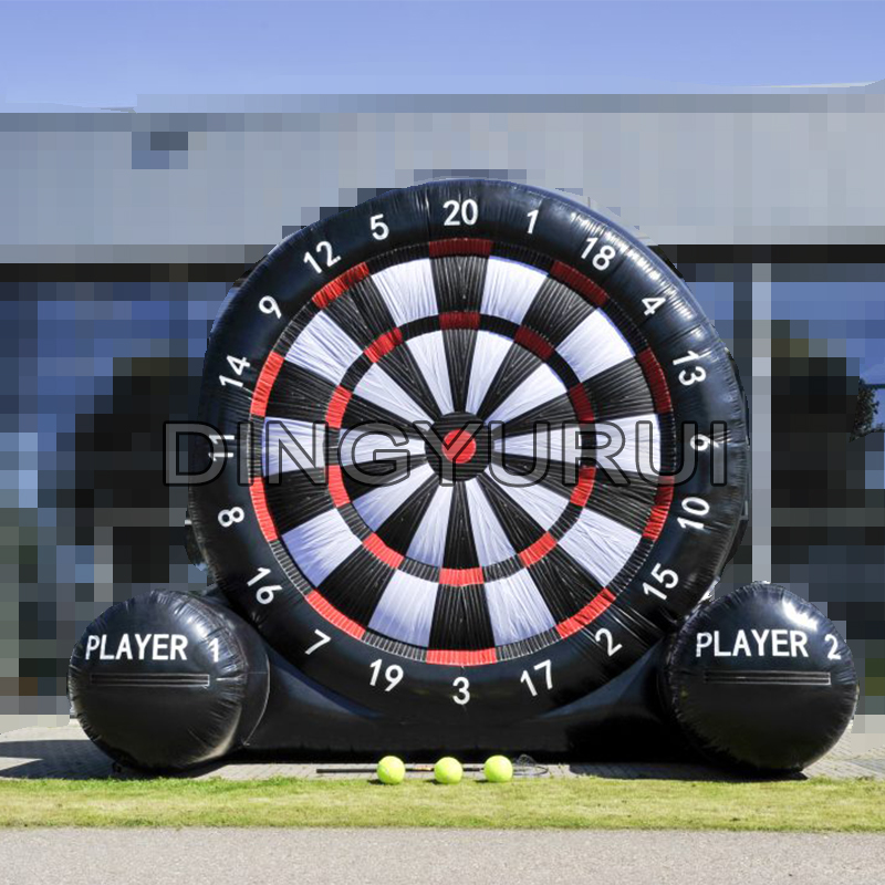 PVC Inflatable Foot Darts Board Game inflatable football target dart board PVC Inflatable Foot Darts Board Game inflatable football target dart board