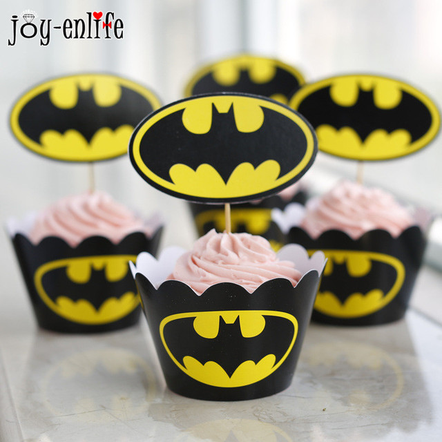 Batman Cupcake Wrappers