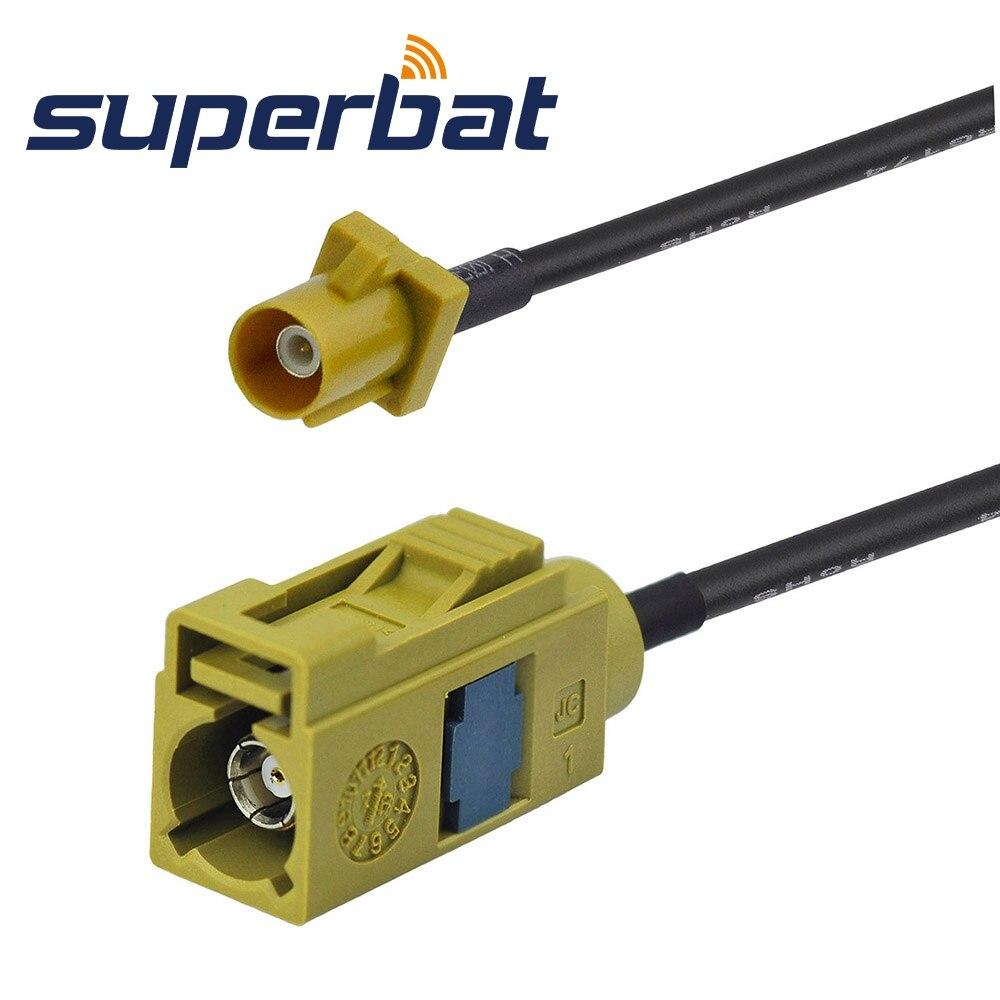 Superbat RF Coaxial Cable 1.5M Fakra