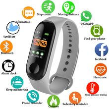 Smart Bracelet LED Color Touch Screen Blood Pressure Heart Rate Monitor IP68 Waterproof Fitness Tracker Sport Smart Wristband