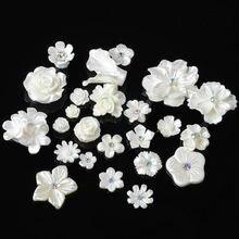 20 шт/лот полимерный цветок кнопка diy ювелирные аксессуары