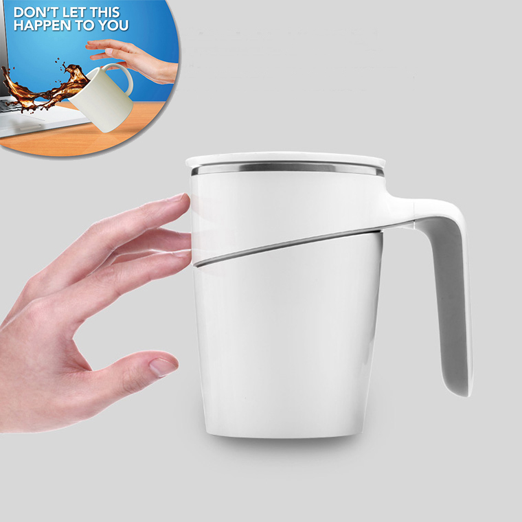 Drop Shipping Tumbler Mighty Mug Magic Sucker with Innovative Push Not Pour Easily Take Water Office/Home Cup New