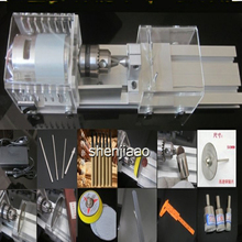 DC12 24V Pearls of high quality lathe electric table tools mini processing font b woodworking b