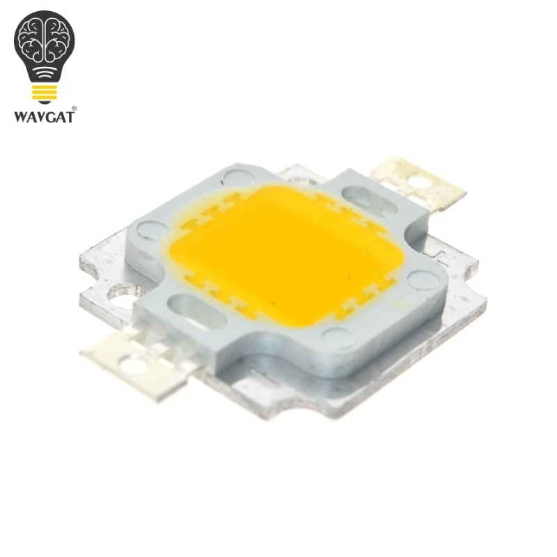 200pcs 10W LED Integrated High power LED Beads white 900mA 9.0-12.0V 800-1000LM 24*40mil Taiwan Huga Chips
