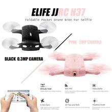 D'origine JJRC Caméra Drone H37 6-Axis Gyro ELFIE WIFI FPV 2.0MP Caméra Quadcopter Pliable G-capteur Mini RC Selfie Drone