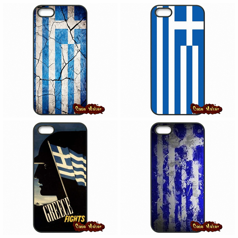 For Samsung Galaxy A3 A5 A7 A8 A9 Pro J1 J2 J3 J5 J7 2015 2016 Greek Greece Flag Pattern Phone Coque Cases Cover