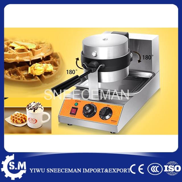 stainless steel rotary waldorf biscuit machine Non-stick pot waffle making maker machine stainless steel axle sleeve china shen zhen city cnc machine manufacture