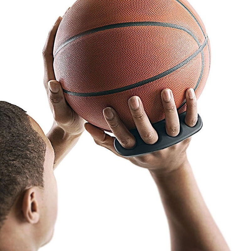 1pc Silicone Gesticulation Correct Shot Lock Basketball Ball Shooting Trainer Three-Point Size S/M/L Shot Size for Kids Adult